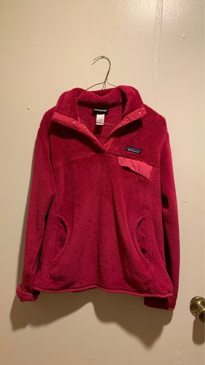 PINK PATAGONIA PULLOVER for Sale in Garland, TX