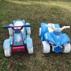 Kids ATVs Frozen for Sale in Virginia Beach, VA