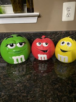 M&M Ceramic Cookie Jar for Sale in Fort Washington,  MD