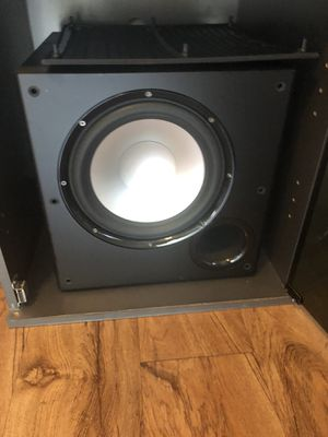 Polk Audio PSW108 Subwoofer for Sale in Mesa, AZ