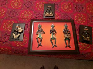 Cultural metal wall art for Sale in Aldie, VA