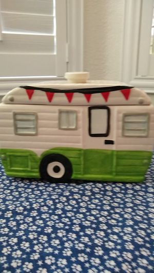 Camper trailer cookie jar for Sale in Las Vegas, NV