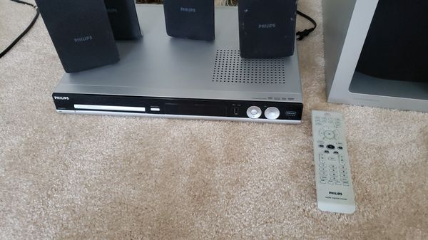 Philips Dvd Home Theater System Hts 3450 Hts3450