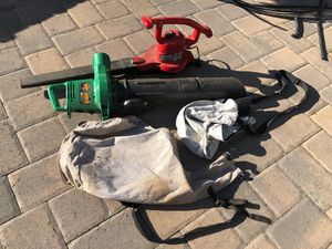 Corded blower and leaf vacuum. for Sale in Bellevue, WA
