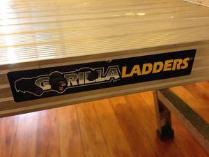 GORILLA LADDERS 20 in. Aluminum Work Platform for Sale in Berkeley, CA