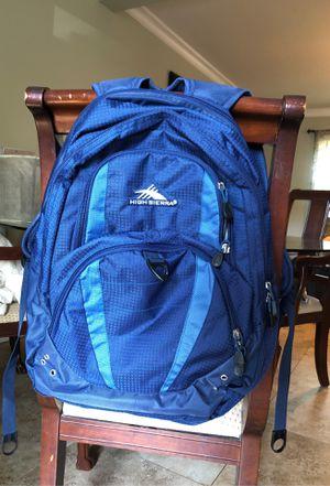 High Sierra navy blue hiking backpack for Sale in Covina, CA