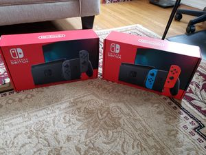 Nintendo Switch BRAND NEW with Cash Receipt for Sale in Philadelphia, PA