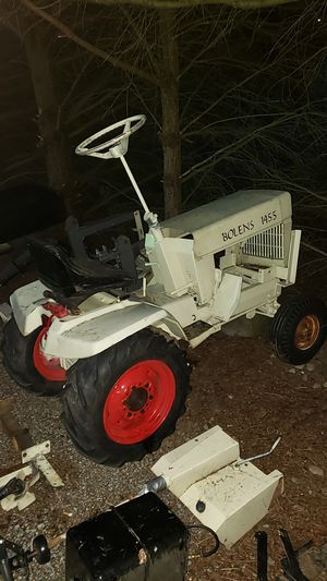 Bolens 1455 tractor with front loader and tiller for Sale in Seattle, WA