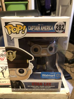 Stan lee pop captain America for Sale in Camas, WA