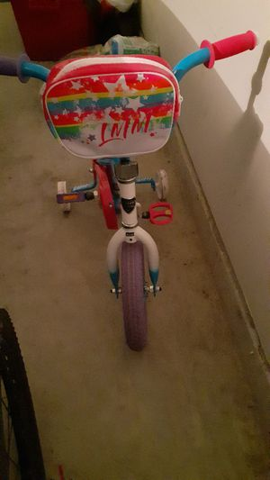 kids toddlers bike with training wheels for Sale in Katy, TX