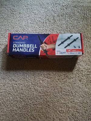 DUMBBELL HANDLES (PAIR) for Sale in Gladstone, OR