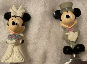 Mickey and Minnie cake servers for Sale in Mount Laurel Township, NJ