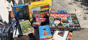 Books and games all for $15 for Sale in West Palm Beach, FL