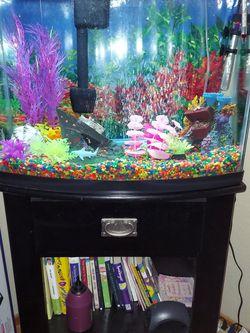 Fish Tank With Book Shelf for Sale in Stockton,  CA