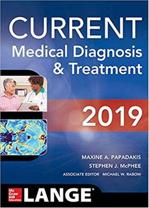 CURRENT Medical Diagnosis and Treatment 2019 58th Edition ebook PDF for Sale in Los Angeles, CA
