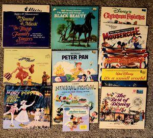 Vintage Disney Albums Records for Sale in Gig Harbor, WA