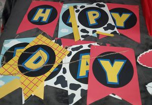 Toy Story Birthday Banner for Sale in Los Angeles, CA