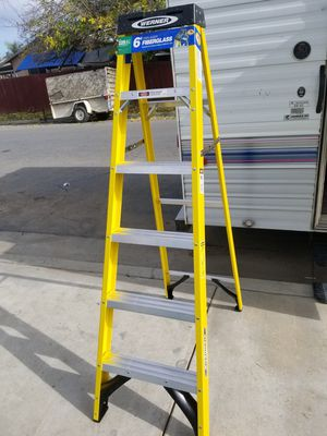 Brand new 6' Warner ladder only asking $45 prices firm for Sale in Bakersfield, CA