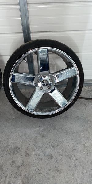22 Inch DUB rims for Sale in Wilmington, NC