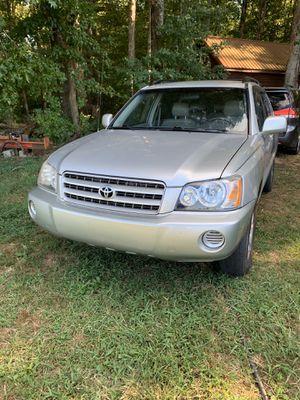 2002 Toyota Highlander for Sale in Greenville, SC
