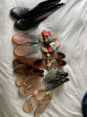 Girls shoes, sandals, boots size 3 for Sale in San Diego, CA