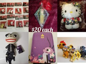 VS Disney Nightmare Before Christmas Gifts for $20 RARE SOLD OUT Scary Teddy Plush Spray Hello Kitty for Sale in Hillsboro, OR
