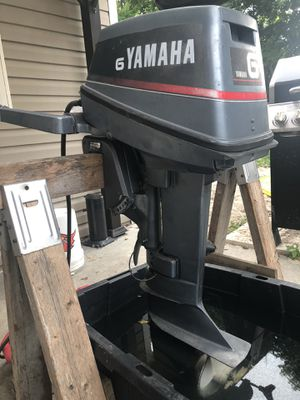 Yamaha 6 hp Outboard for Sale in New Port Richey, FL