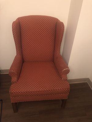 Chair and ottoman for Sale in Boston, MA