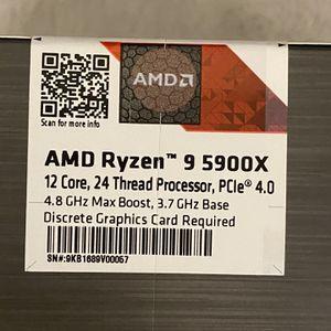 AMD Ryzen 5900X for Sale in Queens, NY