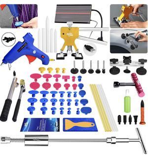 Super PDR DIY 68pc Paintless Dent Removal Repair Tool Kit for Sale in Lorain, OH