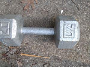 20 lb. Dumbbell for Sale in Glen Allen, VA