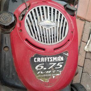 Craftsman Lawn Mower 6.75 Briggs & Stratton READ DESC for Sale in Santee, CA
