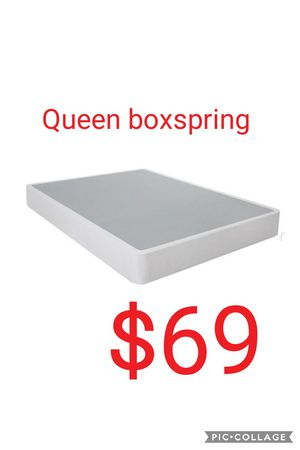Queen boxspring for Sale in Las Vegas, NV