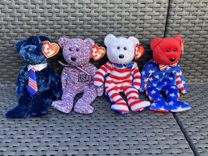 Beanie baby bears -USA for Sale in Costa Mesa, CA