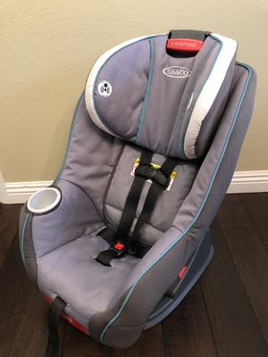 Graco My Size 65 Car Seat- Gray for Sale in Poway, CA
