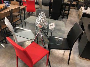 Capri 5 Piece Dining Table Set for Sale in Miami, FL