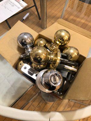 Box full of door handles for Sale in San Jose, CA