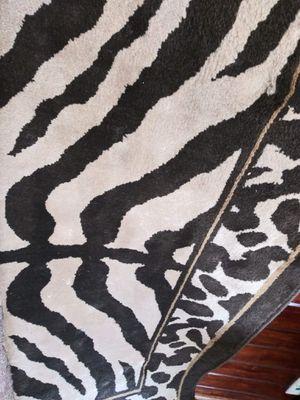 Zebra rug for Sale in Medina, OH