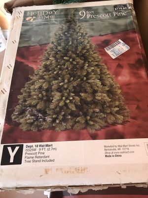 9 feet Christmas tree for sale for Sale in Reston, VA
