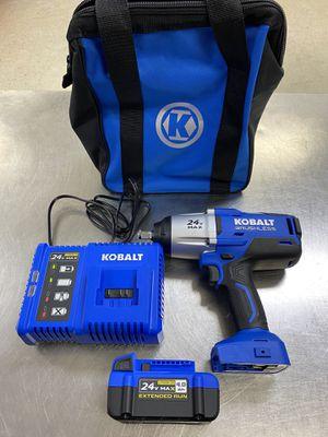 Kobalt 1/2 Brushless Impact Wrench New for Sale in Orlando, FL