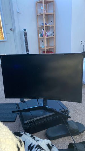 """27"""" Curved LED Samsung Monitor for Sale in Lancaster, PA"""