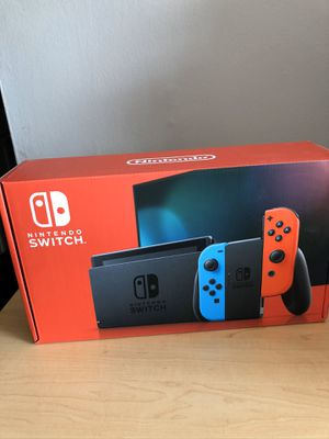 Nintendo switch BRAND NEW 32GB red and blue console for Sale in Indianapolis, IN