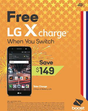 Free X Charge when you switch!! 150$ off!!! for Sale in Harrisonburg, VA