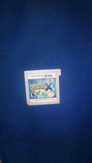 Pokemon X 3DS for Sale in Bakersfield, CA