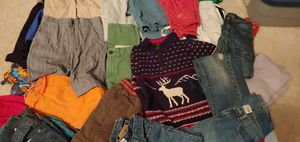 Boys cloths size 6, 35 pieces, lot of bottoms for Sale in Lynnwood, WA