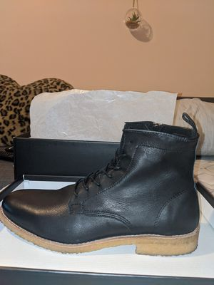 Genuine Leather Boots (Size 9) for Sale in Elizabeth, NJ