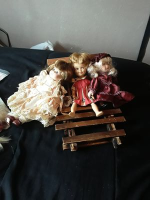 Collectable antique dolls for Sale in Fresno, CA