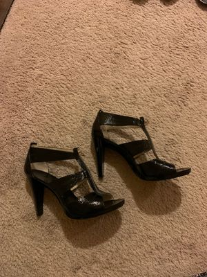 Michael Kors woman dress sandal black color brand new size 10 for Sale in Bolingbrook, IL