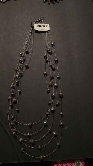 Beautiful necklace Chico's handcrafted design for Sale in Port Richey, FL