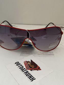 Unisex Red Metal Aviator Sunglasses for Sale in Montgomery,  NJ